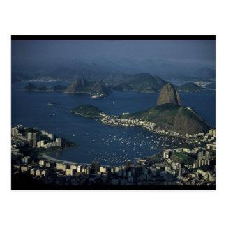 Vue de Rio de Janeiro Carte Postale