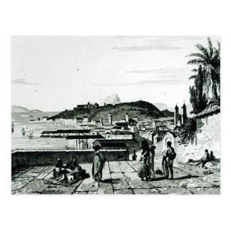 Vue de Rio de Janeiro de l'église Carte Postale