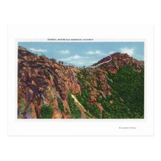 Vue de sommet de Whiteface Mt Carte Postale