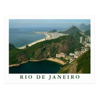 Vue de Sugarloaf carte postale de Rio de Janeiro