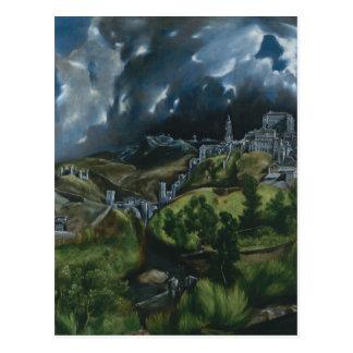 Vue de Toledo Carte Postale