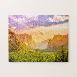 Vue de tunnel de parc national de Yosemite Puzzle