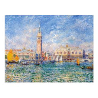 Vue de Venise par Renoir Carte Postale