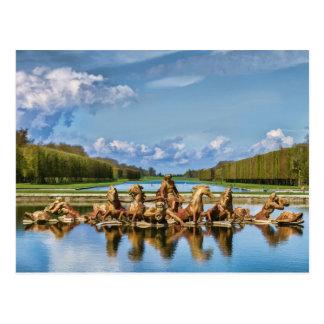 Vue de Versailles, France, carte postale