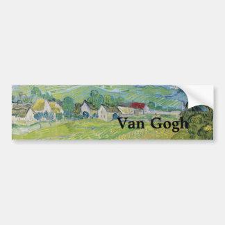 Vue de Vessenots près d'Auvers par Vincent van Adhésifs Pour Voiture