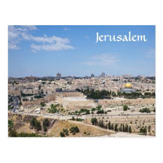 Vue de vieille ville de Jérusalem, Israël Carte Postale