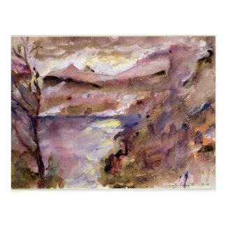 Vue de Walchen Lake, 1919 Carte Postale
