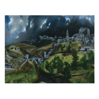 Vue d'El Greco de Toledo Cartes Postales