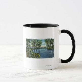 Vue d'entrée d'admission mug