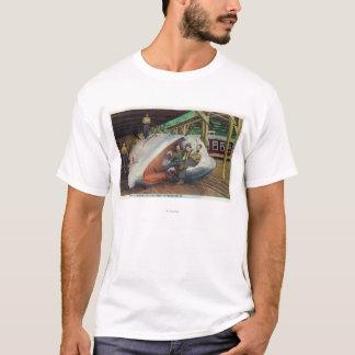 Vue des chasseurs de baleine reposant sur la t-shirt