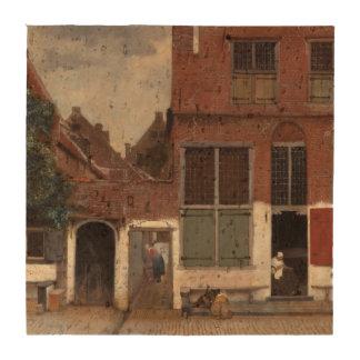 Vue des maisons à Delft par Johannes Vermeer Dessous-de-verres