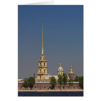 Vue des saints Peter et de cathédrale de Paul Carte De Vœux