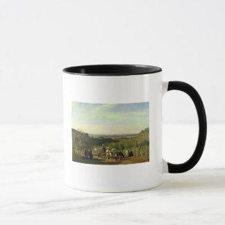 Vue des sommets de Suresnes Mugs