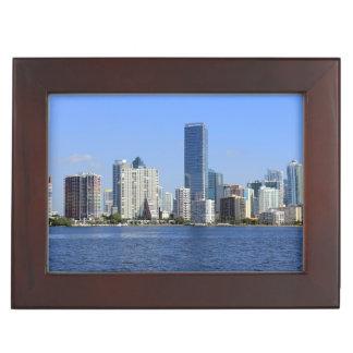 Vue d'horizon de Miami Boîte À Souvenirs