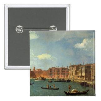 Vue du canal de Santa Chiara, Venise Badge