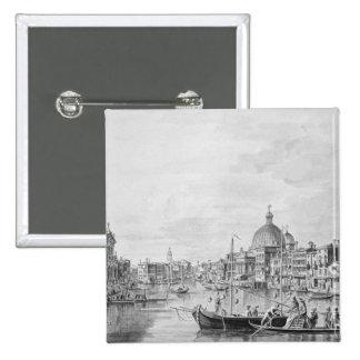 Vue du canal grand, Venise, c.1800 Badge