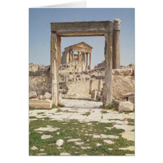 Vue du Capitolium, ANNONCE 166-167 Carte De Vœux