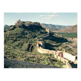 Vue du château, 8ème-12ème siècle carte postale