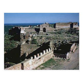 Vue du château, 8ème-12ème siècle cartes postales