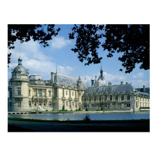Vue du château grand et petit carte postale