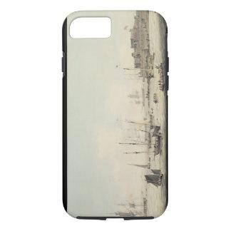 Vue du cornet de château, Guernesey, avec Coque iPhone 8/7