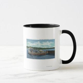 Vue du ferry de point et d'arrimage de Bemus Mug