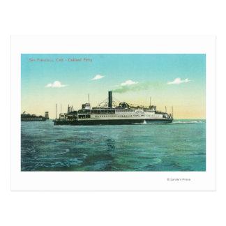 Vue du ferry d'Oakland Carte Postale