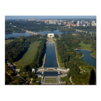 Vue du Lincoln Memorial Carte Postale