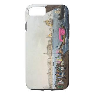 Vue du Neva, du port et de l'échange à Coque iPhone 7