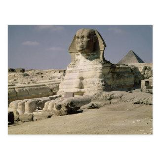 Vue du nord à l'est du sphinx carte postale