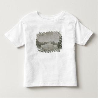 Vue du palais chez Kew de la pelouse, gravée T-shirt Pour Les Tous Petits