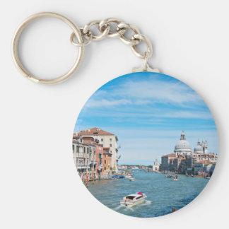 Vue du pont à Venise Porte-clés
