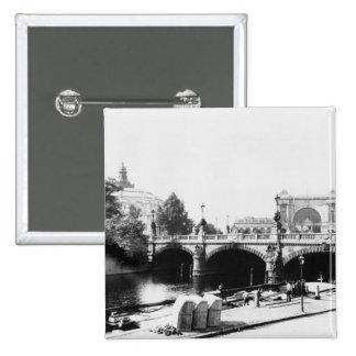 Vue du pont de Moltke Pin's