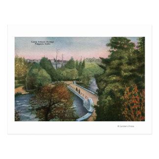 Vue du pont d'île de Luna Cartes Postales