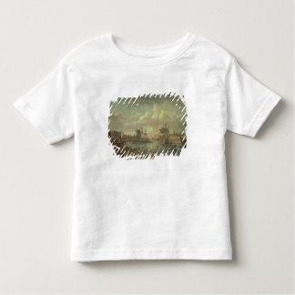 Vue du port à Brest T-shirt Pour Les Tous Petits