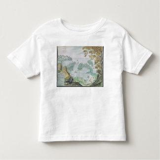 Vue du port d'Acapulco T-shirt Pour Les Tous Petits
