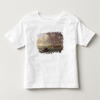 Vue du port de Lorient T-shirt Pour Les Tous Petits