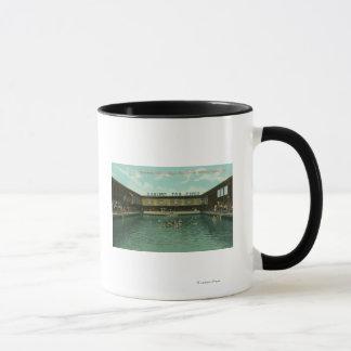 Vue du réservoir de natation mug