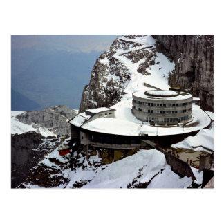 Vue du sommet, Mt. Pilatus, Suisse l'Europe Cartes Postales