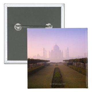 Vue du Taj Mahal au lever de soleil Badges