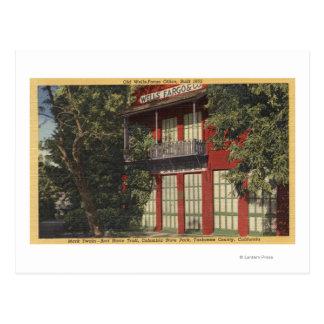 Vue du vieux bureau de Wells Fargo (1855) Carte Postale