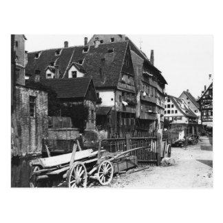 Vue du vieux quart, Ulm, c.1910 Carte Postale