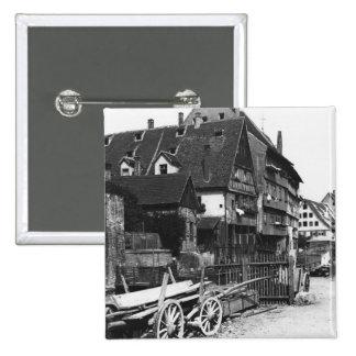 Vue du vieux quart, Ulm, c.1910 Pin's