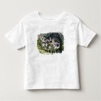 Vue du village et de l'église de St Foy (pho T-shirt Pour Les Tous Petits