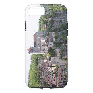 Vue du village et de l'église (photo) 3 coque iPhone 7
