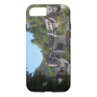 Vue du village médiéval (photo) coque iPhone 7