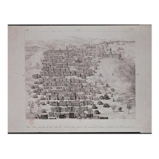 Vue d'une partie de la ville de Tombouctou d'une Carte Postale