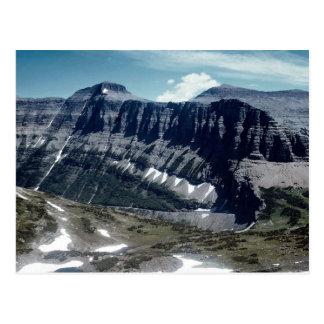 Vue élevée des montagnes rocheuses, pair de cartes postales