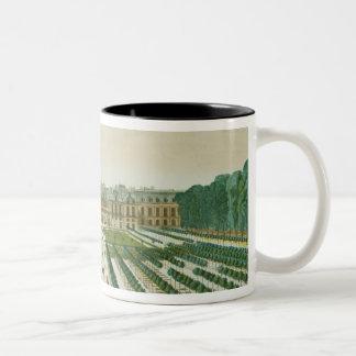 Vue et perspective du Palais Royal du Tasse 2 Couleurs