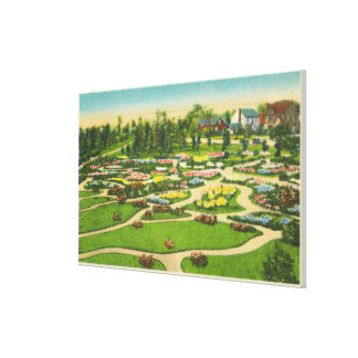 Vue éternelle de jardins de parc de Hoopes Toiles